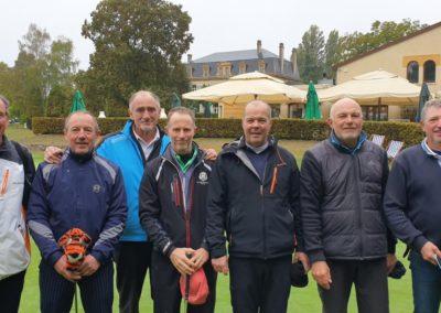 Championnat 4ème Division Messieurs Seniors : du 24 au 26 septembre 2021 Golf de Thumeries Notre équipe 5ème après le 2ème jour