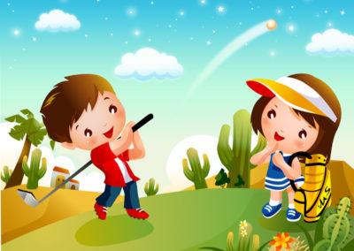 Calendrier des Compétitions Ecole de Golf 2021
